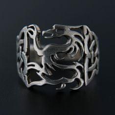Amiatex Strieborný prsteň 13925