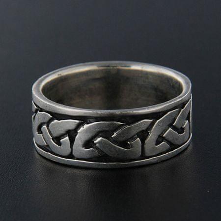 Amiatex Ezüst gyűrű 13933 + Nőin zokni Gatta Calzino Strech, 62