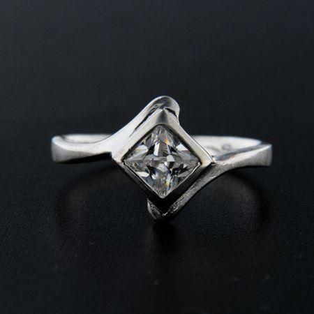 Amiatex Pierścionek srebrny 14221, 57