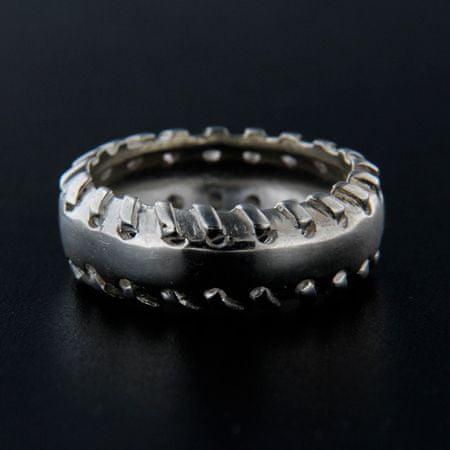 Amiatex Ezüst gyűrű 14224, 58