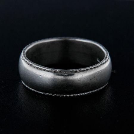 Amiatex Ezüst gyűrű 14320 + Nőin zokni Gatta Calzino Strech, 58