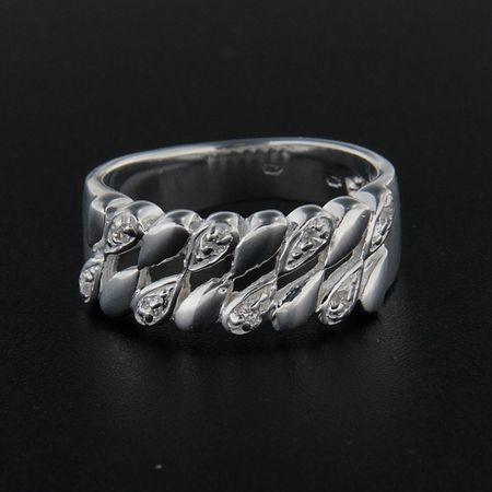 Amiatex Ezüst gyűrű 14279, 53