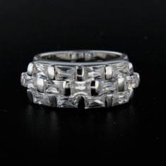 Amiatex Ezüst gyűrű 14299