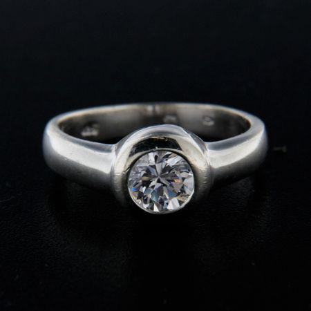 Amiatex Ezüst gyűrű 14319 + Nőin zokni Gatta Calzino Strech, 57