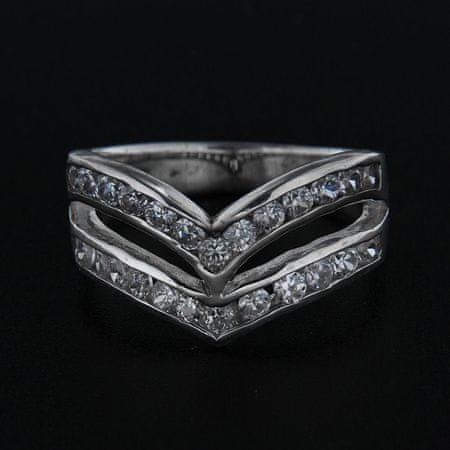Amiatex Ezüst gyűrű 14310, 57