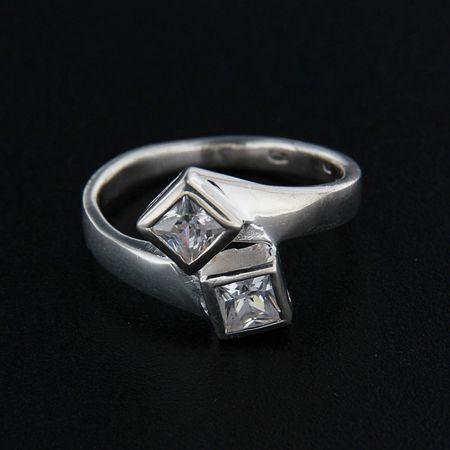 Amiatex Ezüst gyűrű 14360, 55