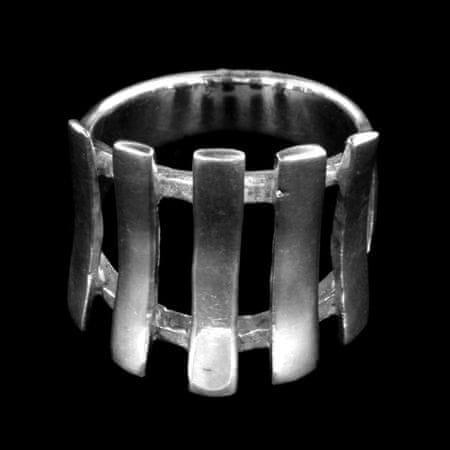 Amiatex Ezüst gyűrű 14348, 54