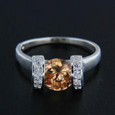 Amiatex Strieborný prsteň 14354