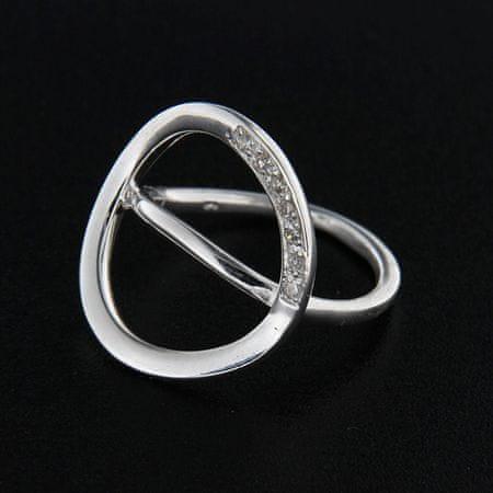 Amiatex Ezüst gyűrű 14359, 61