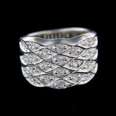 Amiatex Ezüst gyűrű 14767