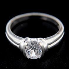 Amiatex Strieborný prsteň 14776