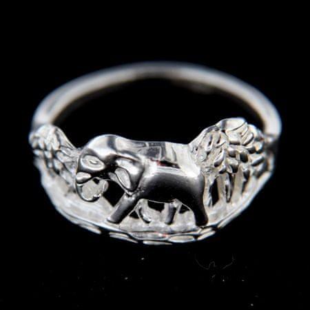 Amiatex Ezüst gyűrű 14774, 54