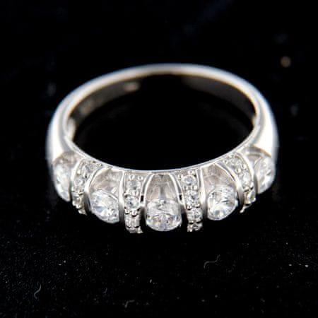 Amiatex Ezüst gyűrű 14818, 52