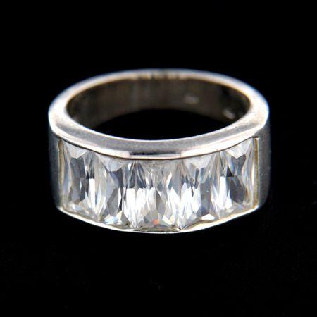 Amiatex Ezüst gyűrű 14828, 57