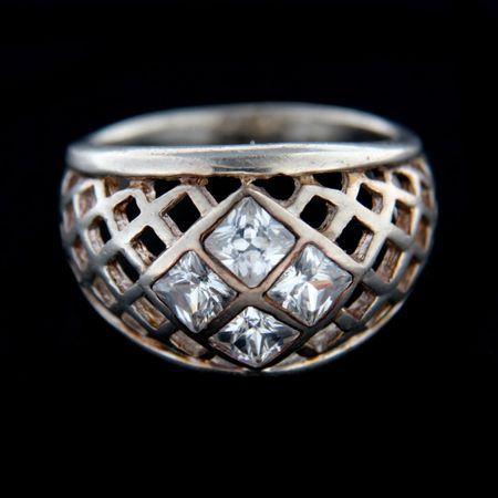 Amiatex Ezüst gyűrű 14841, 57