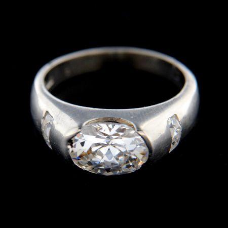 Amiatex Ezüst gyűrű 14854, 57