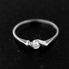 Amiatex Strieborný prsteň 14864