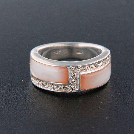 Amiatex Ezüst gyűrű 14859, 55