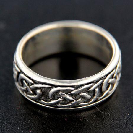 Amiatex Ezüst gyűrű 14849 + Nőin zokni Gatta Calzino Strech, 69