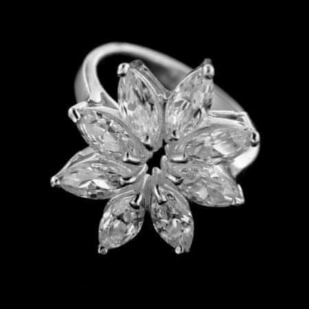 Amiatex Ezüst gyűrű 14960, 55