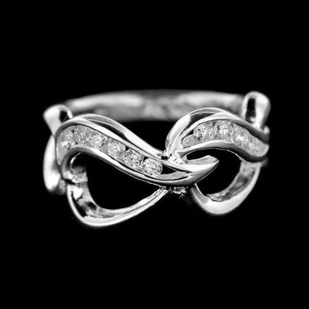 Amiatex Ezüst gyűrű 14932 + Gázmaszk FFP2, 57