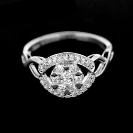 Amiatex Ezüst gyűrű 14973, 55
