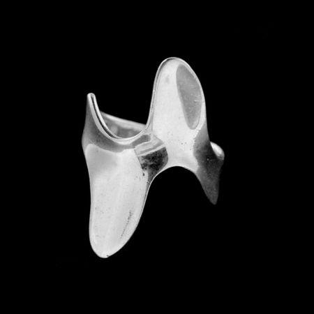 Amiatex Ezüst gyűrű 14996, 53