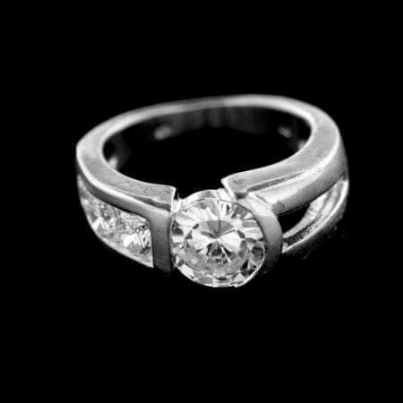 Amiatex Pierścionek srebrny 14985, 53