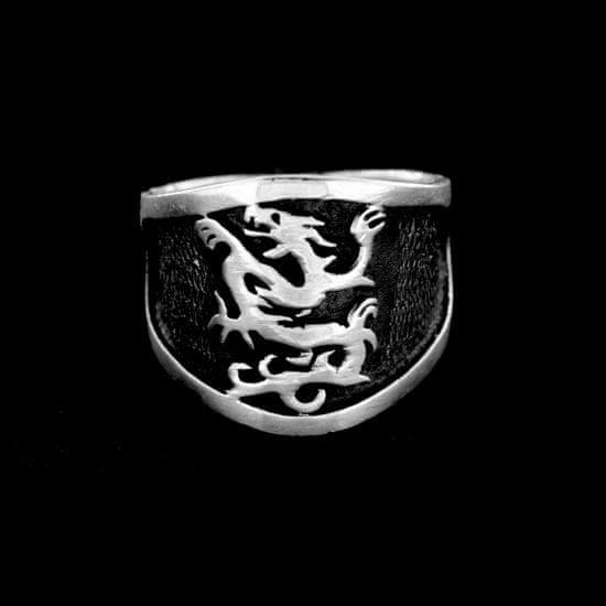 Amiatex Strieborný prsteň 14991 + Respirátor FFP2, 65