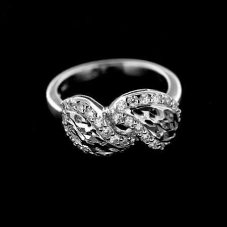 Amiatex Ezüst gyűrű 14977, 52
