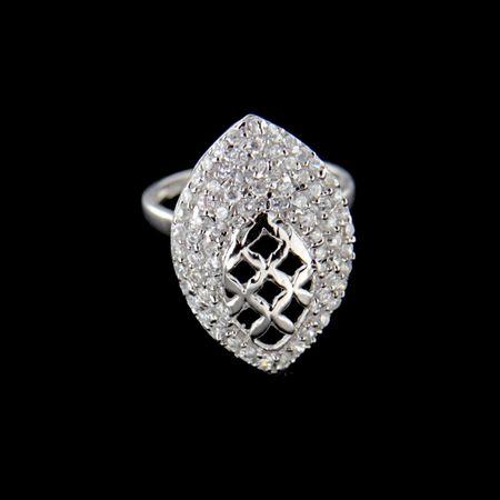 Amiatex Ezüst gyűrű 15192, 50
