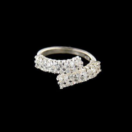 Amiatex Ezüst gyűrű 15200, 56