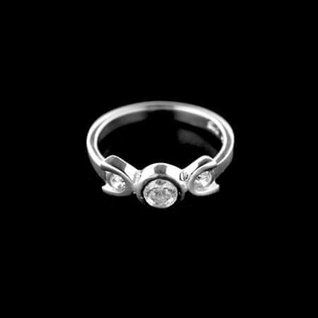 Amiatex Pierścionek srebrny 15227, 44