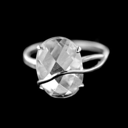 Amiatex Strieborný prsteň 15390, 53