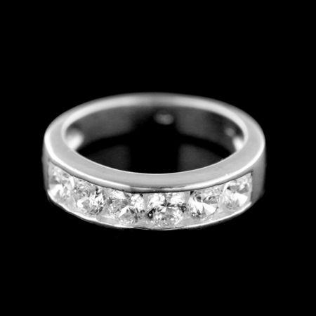 Amiatex Ezüst gyűrű 15433, 58