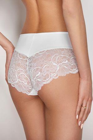 Ewana Női alsónemű 084 white + Nőin zokni Sophia 2pack visone, fehér, L