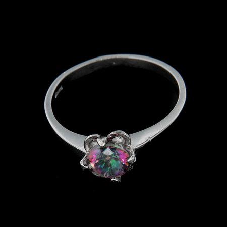 Amiatex Ezüst gyűrű 25171, 57