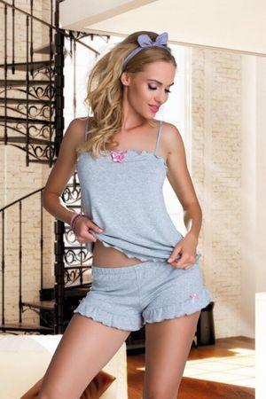 Eldar Női pizsama Elian grey, szürke, XL