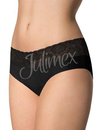 Julimex Női alsónemű Hipster black, fekete, XL