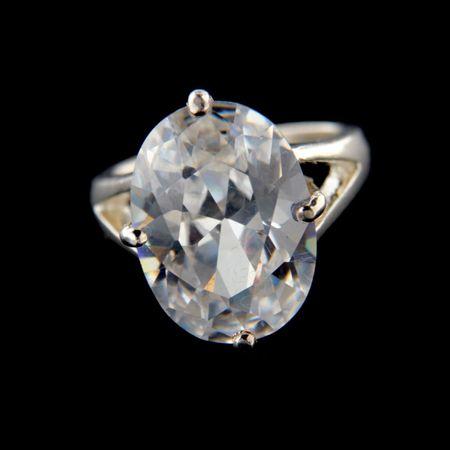 Amiatex Ezüst gyűrű 34341, 59