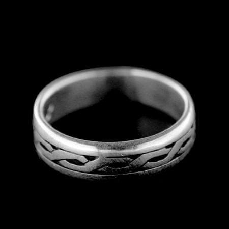 Amiatex Ezüst gyűrű 34670, 52