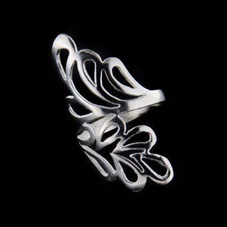 Amiatex Ezüst gyűrű 34811, 59