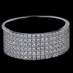 Amiatex Stříbrné prsteny 51702