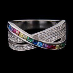 Amiatex Ezüst gyűrű 60894
