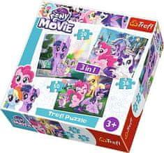Trefl 3v1 My Little Pony 15 - 39 dielikov