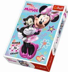 Trefl Puzzle Gigant 36 dílků Disney Minnie