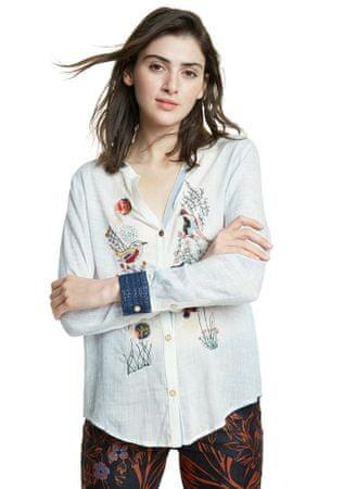 Desigual ženska srajca Matera 20SWCW22, XS, bela