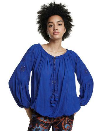 Desigual ženska bluza Venecia 20SWBW17, S, modra