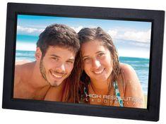 Trevi DPL2243 digitalni foto okvir, 2 zvočnika, daljinski upravljalnik, črn