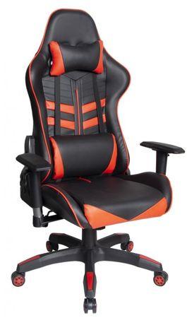 Hyle VRT.HY-2511 pisarniški stol, črno-rdeč